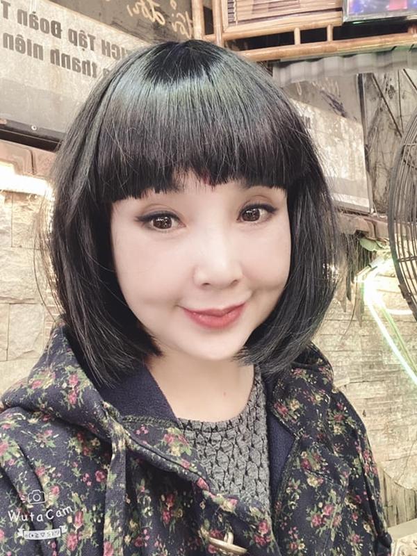 Nhan sắc hiện tại của NSND Lan Hương.