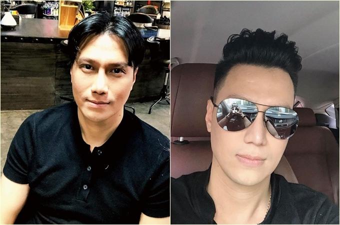 Diễn viên Việt Anh đăng ảnh lột xác trước và sau khi cắt tóc mới: Đi công tác về, tóc tai kinh quá, việc đầu tiên sau khi xuống sân bay là cắt ngay một chiếc đầu mới.