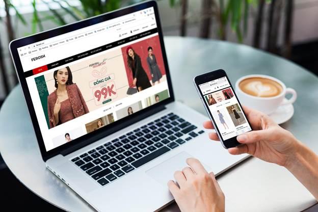 Chỉ cần một chiếc laptop hoặc smartphone với internet tốt, bạn đã có thể mua hàng trên Ferosh.
