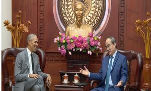 Cựu tổng thống Obama trở lại Việt Nam