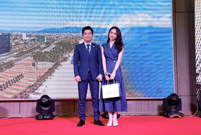 Hoa hậu Hương Giang - chủ nhân của 5 căn hộ tại Wyndham Soleil Danang.