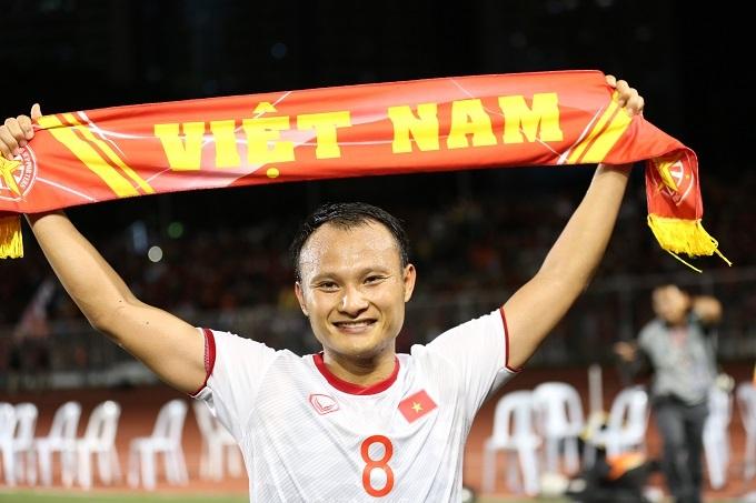 Trọng Hoàng là chứng nhânở hai trận chung kết SEA Games trong 10 năm của Việt Nam. Ảnh: Đức Đồng.