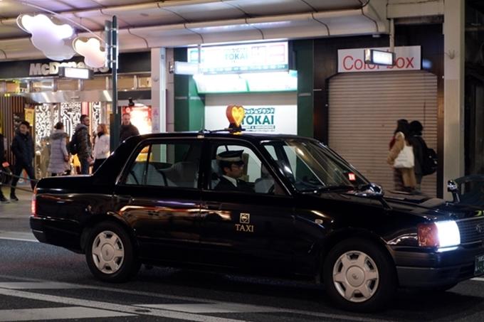 Taxi đêmở Kyoto