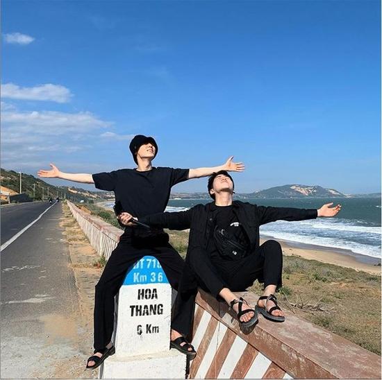 Hwang Min Hyun ở Phan Thiết.