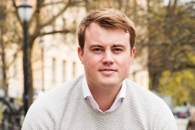 Hiện Mathias Mikkelsen là một trong những nhà khởi nghiệp tiêu biểu của Na Uy. Ảnh: Mathias Mikkelsen.