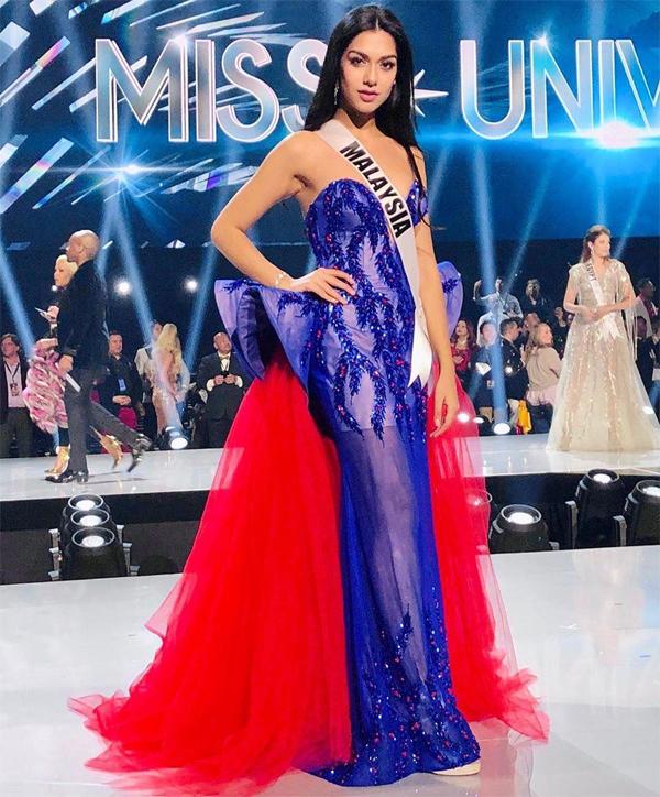 Hoa hậu Malaysia, Shweta Sekhon sau đêm chung kết.