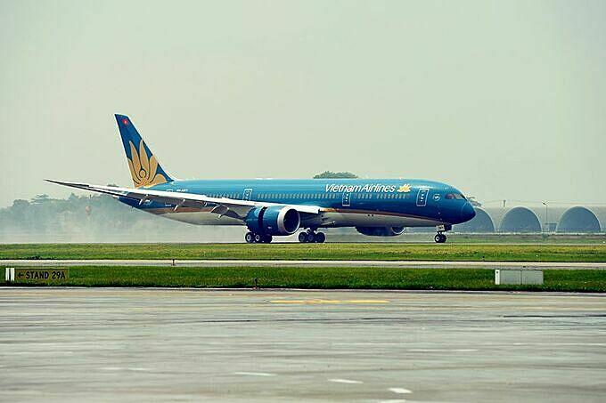 Vietnam Airlines khuyến cáo hành khách làm thủ tục ở sân bay Nội Bài sớm hơn thường lệ vào chiều nay.