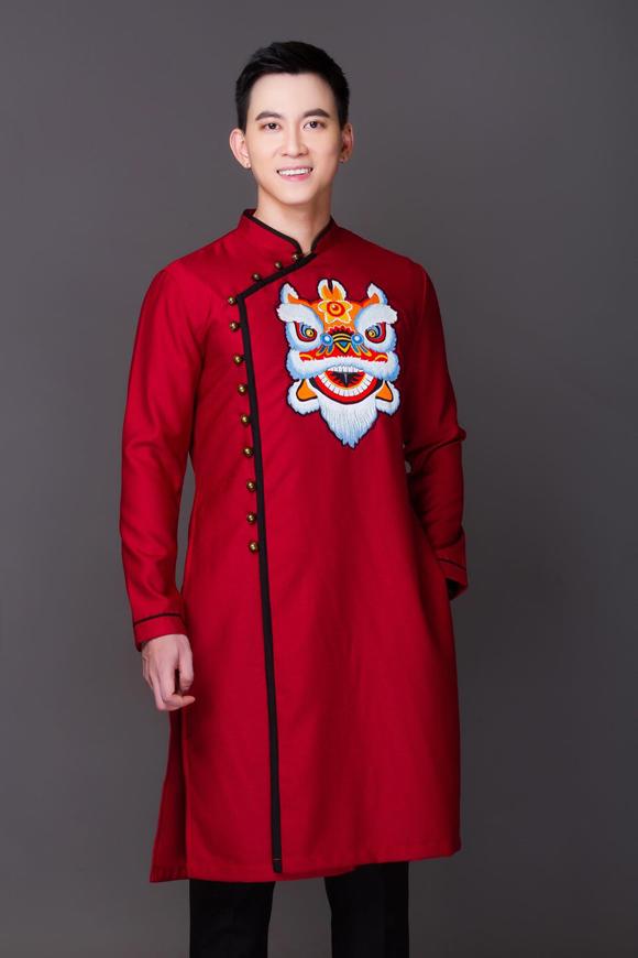 Đám cưới chuột, tranh Đông Hồ trên áo dài Tết - 1