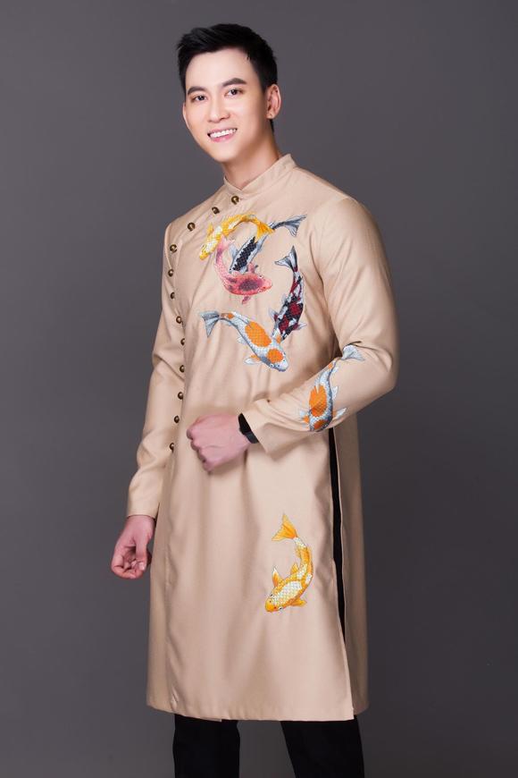 Đám cưới chuột, tranh Đông Hồ trên áo dài Tết - 2