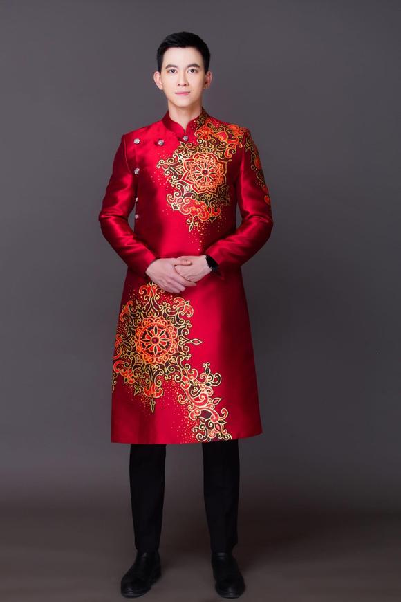 Đám cưới chuột, tranh Đông Hồ trên áo dài Tết - 3