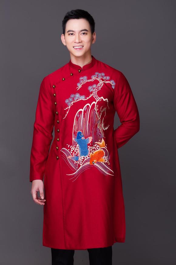 Đám cưới chuột, tranh Đông Hồ trên áo dài Tết - 4
