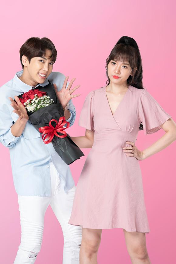 Hari Won đóng cặp với ca sĩ Hàn Quốc Park Jung Min.
