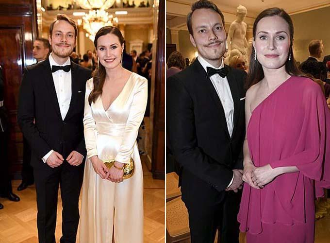 Cặp vợ chồng thường xuyên đồng hành cùng nhau khi đến tham dự các bữa tiệc.