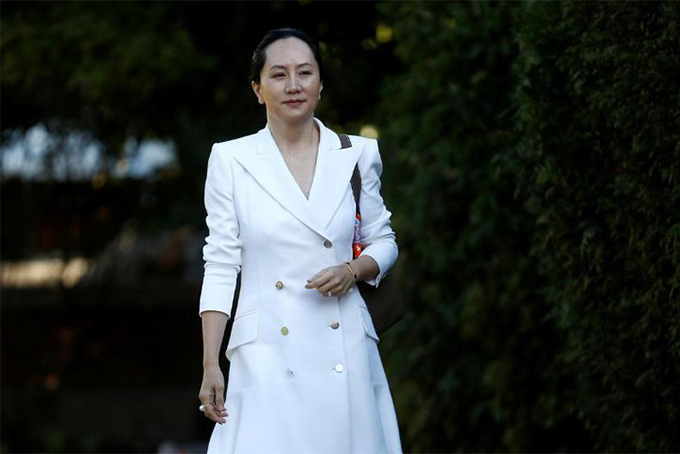 Bà Meng Wanzhou rời biệt thự đến tòa án tối cao British Columbia tại Vancouver, Canada hồi tháng 9/ 2019. Ảnh: Reuters.