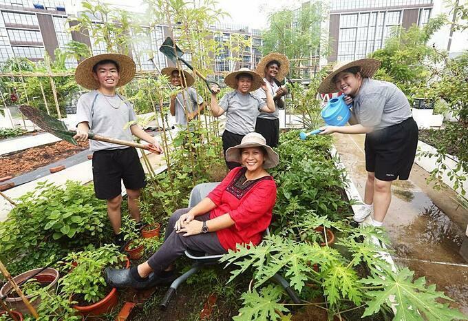 Cô Lyvenne Phoon là giáo viên tại Trường trung học Spectra (Singapore). Với niềm tin mạnh mẽ rằng trẻ em sẽ học được nhiều hơn từ những trải nghiệm thực tế, năm 2015, cô Lyvenne đã bắt đầu triển khai chương trình giáo dục công dân thông qua việc cùng các học sinh của mình gây dựng khu vườn rau sạch trên sân thượng.