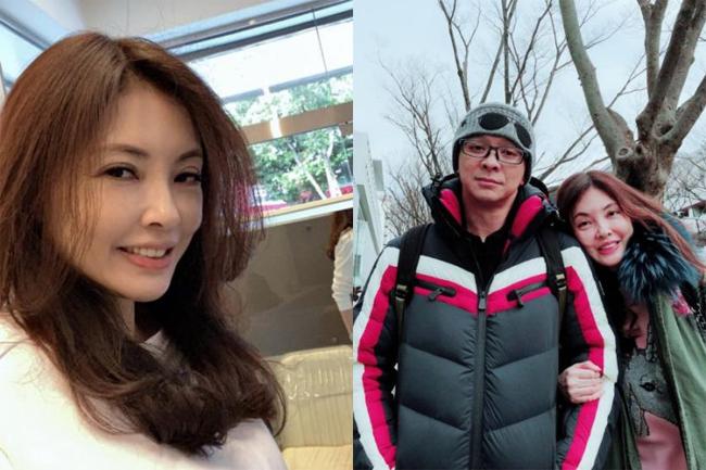 Diễn viên Hà Như Vân và chồng khi mặn nồng.
