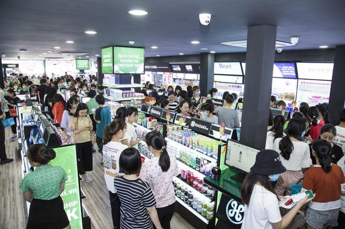 Hasaki là đối tác của nhiều thương hiệu mỹ phẩm.