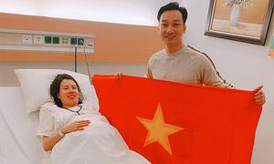 Vợ MC Thành Trung sinh đôi con trai