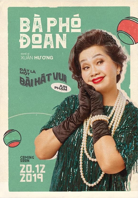 Xuân Hương xuất hiện một mình từ teaser tới poster của MV.