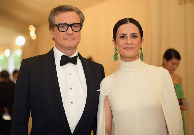 Colin Firth và vợ, Livia Firth.
