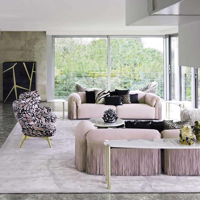 Roberto Cavalli theo đuổi phong cáchquyến rũ và bí ẩn trong thiết kế nội thất.