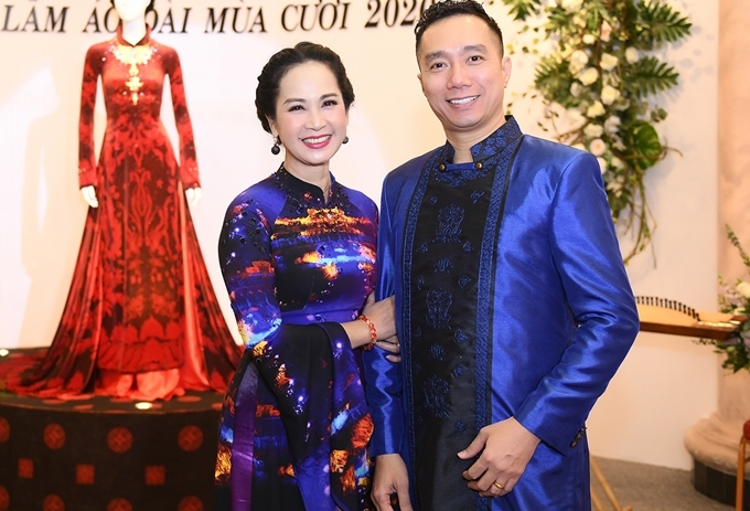Chị bày tỏ niềm yêu thích với trang phục truyền thống, đặc biệt là các thiết kế trong bộ sưu tập S Việt của đàn emthân thiết là NTK Đỗ Trịnh Hoài Nam.