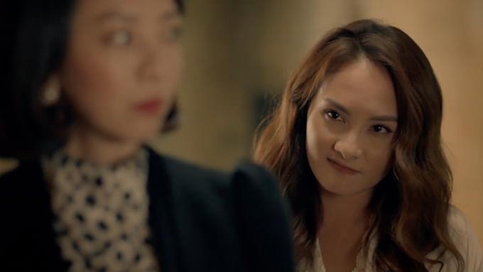 Bảo Thanh xuất hiện bí ẩn ở cuối teaser.