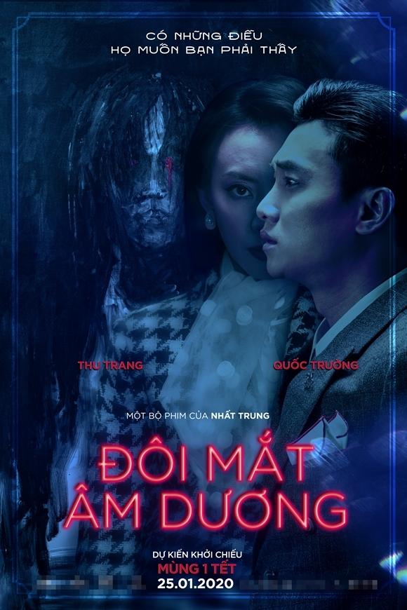 Poster phim Đôi mắt âm dương.