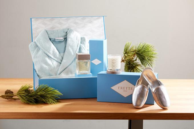 Các vật phẩm của Frette là những món quà đặc biệt dành cho bạn bè, người thân.