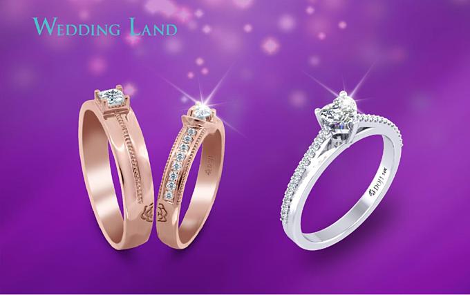 Thương hiệu trang sức cưới Wedding Land thuộc Tập đoàn Vàng bạc đá quý DOJI cũng ưu đãi đến 20% các món trang sức cưới, gồm cả dòng sản phẩm cao cấp Infinity Love.