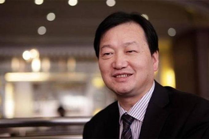 Tỷ phú Qin Yinglin, chủ tịch Công ty Muyuan Foodstuff. Ảnh: China Daily.