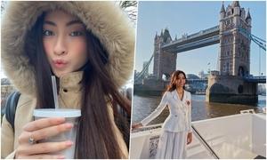 Lương Thùy Linh dạo chơi khắp London khi dự Miss World 2019