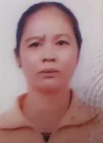 Bị can Nguyễn Thị Doan.