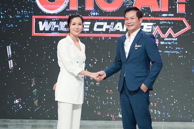 Hoàng Thị Huyên và sếp Phạm Thanh Hưng, Phó Chủ tịch CenGroup.
