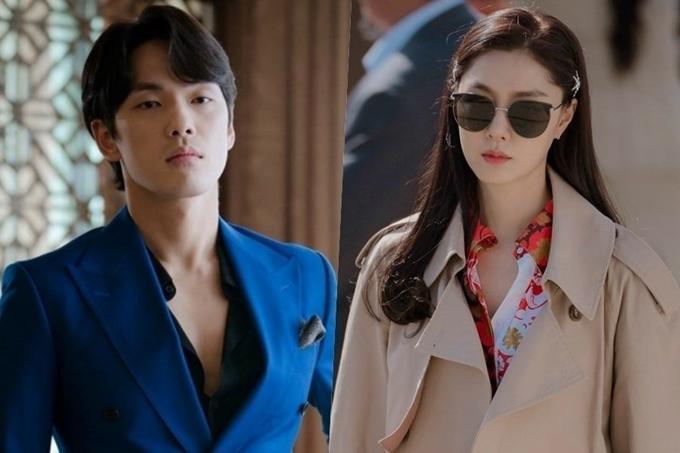 Seo Ji Hye (phải) và Kim Jung Hyun là hai nhân tố mới trong quan hệ tình cảm bốn người.