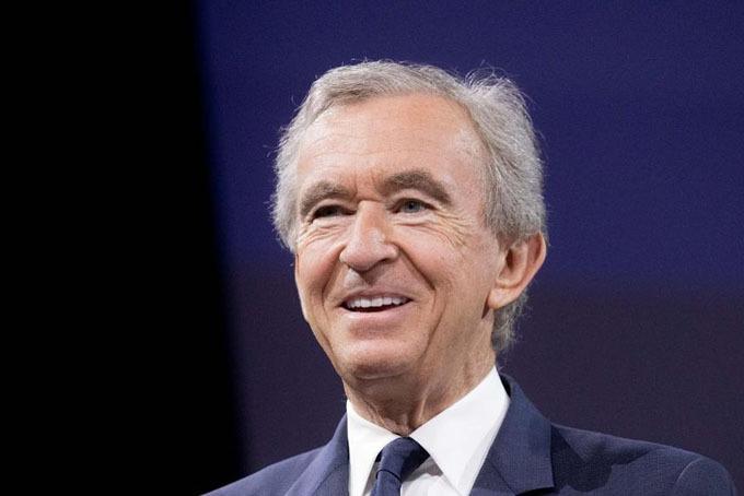 Tỷ phú Pháp Bernard Arnault. Ảnh: Forbes.