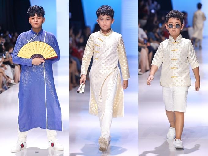 Trang phục có màu sắc đa dạng, phù hợp với cả bé nam lẫn nữ