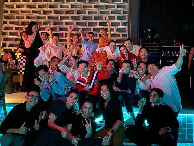 Dàn sao dự tiệc sinh nhật NTK Lú Quí Khánh.