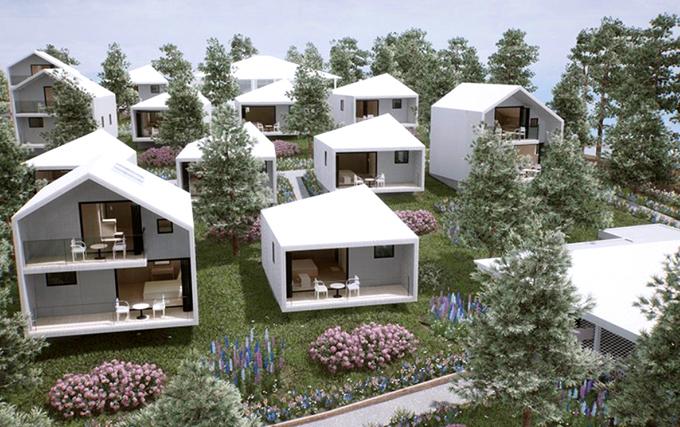 Resort của Lý Nhã Kỳ gồm 16 villa với đầy đủ tiện ích như nhà hàng ngoài trời và trong nhà, siêu thị mini... Người đẹp dự định từ năm 2020 sẽ mở cửa khu nghỉ dưỡng để đón những vị khách đầu tiên.