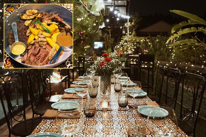 Địa chỉ cuối tuần: 3 nhà hàng đồ Âu ấm cúng đêm Noel - 2