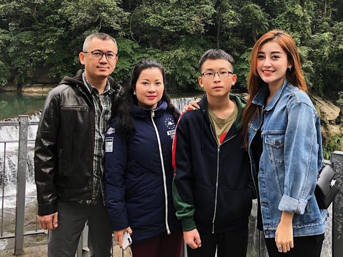Từ khi đăng quang Á hậu 1 Hoa hậu Việt Nam 2014, Huyền My cảm thấy may mắn vì luôn có gia đình làm hậu phương, tháp tùng ở nhiều sự kiện, hoạt động từ thiện.
