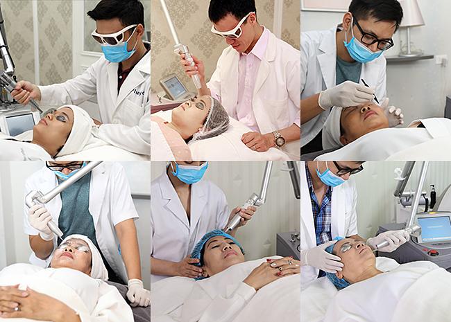 Theo Thư viện Y khoa Hoa Kỳ, melanin là kem chống nắng tự nhiên của cơ thể nhưng khi da tiếp xúc với ánh nắng mặt trời trong thời gian dài, melanin sản sinh ra nhiều sẽ gây nên những rối loạn sắc tố da: vết nám, tàn nhang, sạm da. Vì vậy, tại Saigon Smile Spa 2 miền nam bắc lúc này, nhiều chị em trong đó có cả nữ MC Thanh Vân Hugo đã tức tốc đi trị nám bởi đây là thời điểm vàng, làn da được bảo vệ tối đa khỏi tác hại của tia UV sẽ giúp quá trình điều trị nám nhanh và hiệu quả hơn.