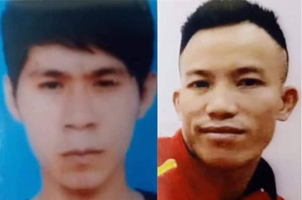 Hiếu (trái) và Hồng bị phát lệnh truy nã sau khi hành hung phụ xe Hinh hôm 20/10.