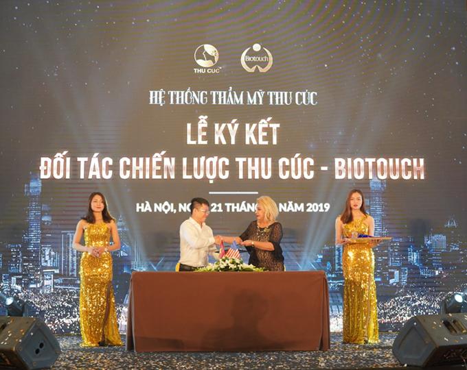 Thu Cúc ký kết hợp tác chiến lược với Biotouch.
