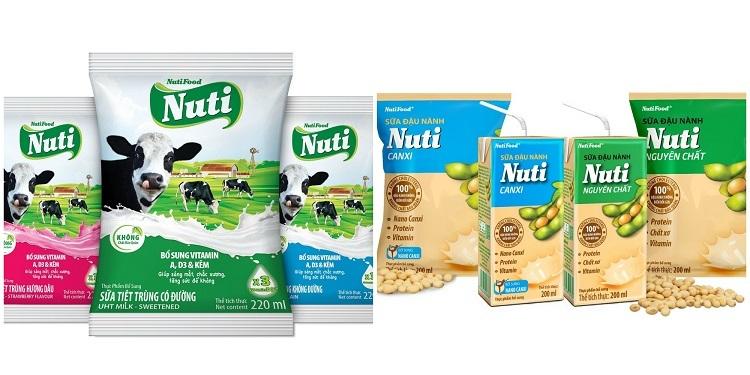Mua một thùng sản phẩm sữa Nuti sẽ có ngay cơ hội trúng vàng đầu năm Canh Tý.
