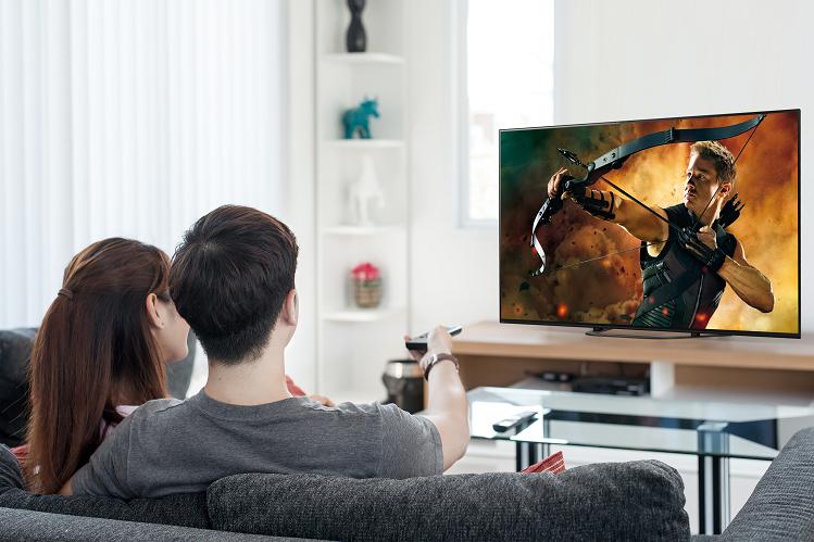 Với công nghệ dành riêng cho TV kích thước màn hình lớn, Sony OLED TV cho góc nhìn rộng, tăng độ nét, đảm bảo trải nghiệm nghe nhìn không khác biệt dù ở góc độ nào.