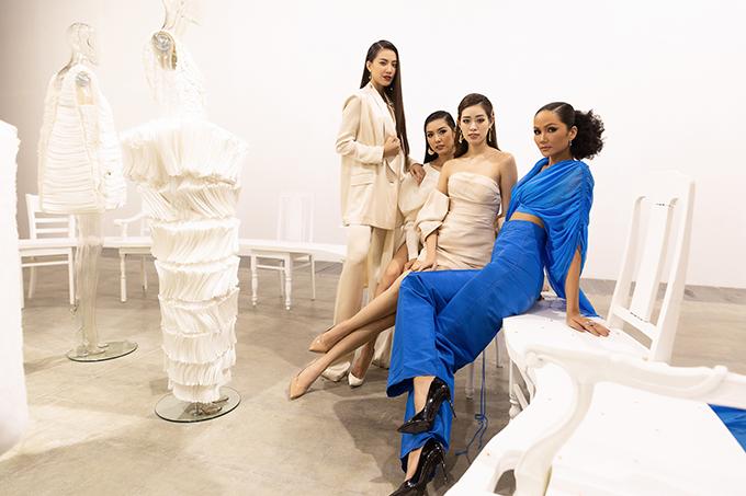 HHen Niê tạo dáng trong triển lãm thời trang - 6