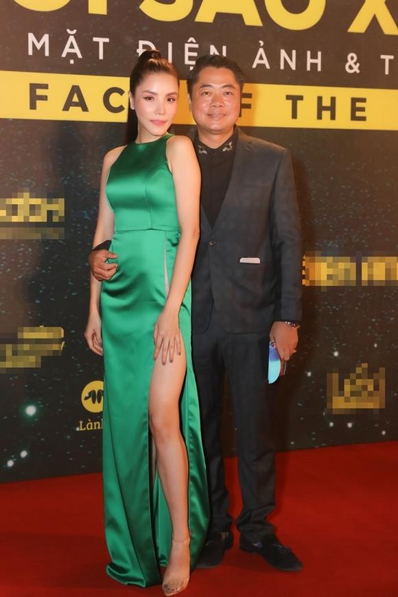 Ca sĩ Trang Nhung và ông xã - đạo diễn Hoàng Duy.