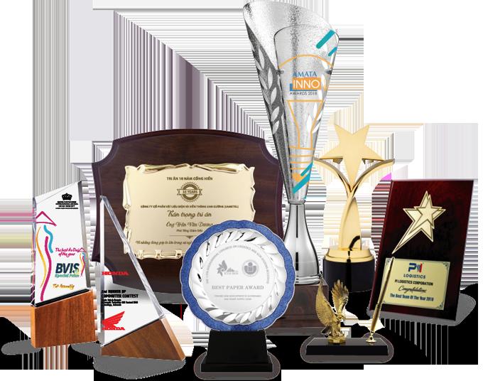 Kỷ niệm chương là món quà khen thưởng mà nhiều doanh nghiệp dành tặng nhân viên xuất sắc dịp cuối năm.