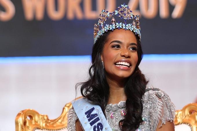 Đất nước Jamaica có vương miện Miss World thứ 4 nhờ thành tích của Toni-Ann Singh